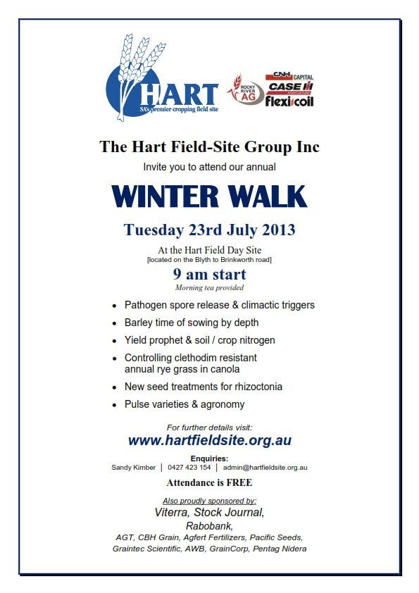 Hart Winter Walk