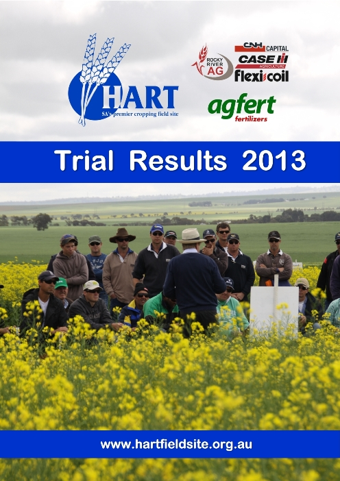 2013 Hart Trial Results Book