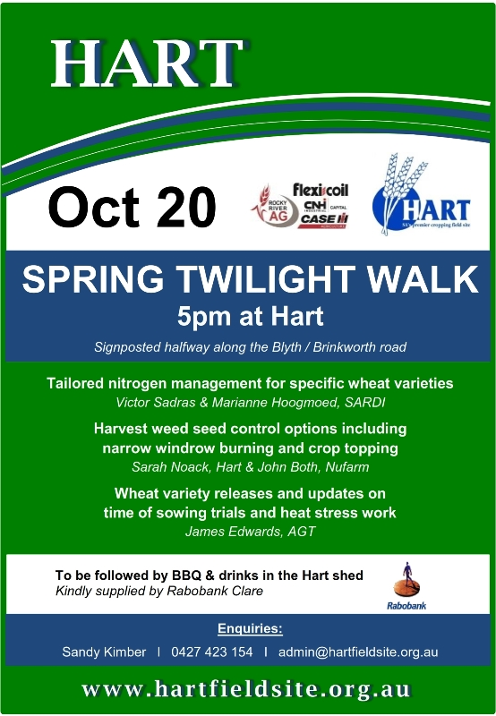 Hart Spring Twilight Walk 2015