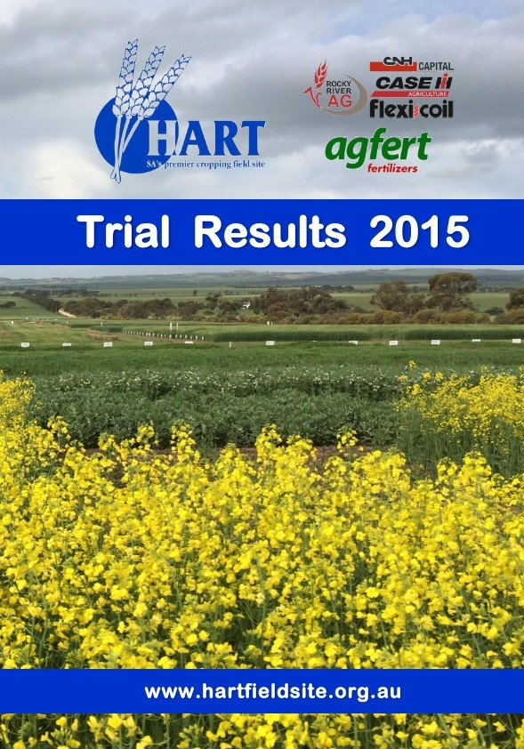 2015 Hart Trial Results Book