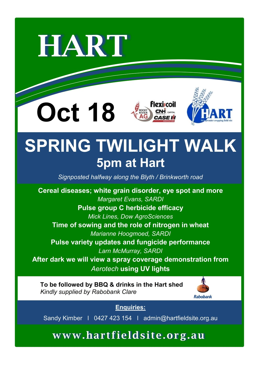 Hart Spring Twilight Walk 2016