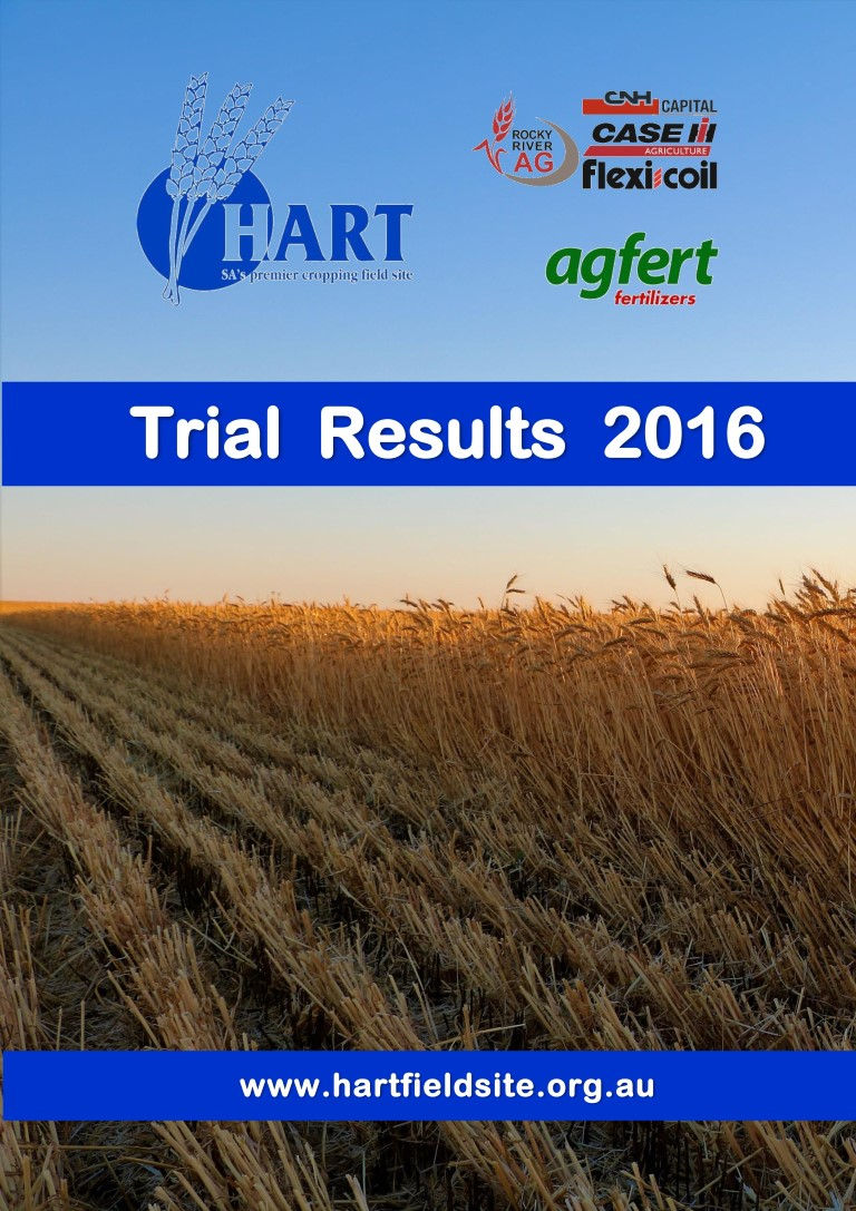 2016 Hart Trial Results Book