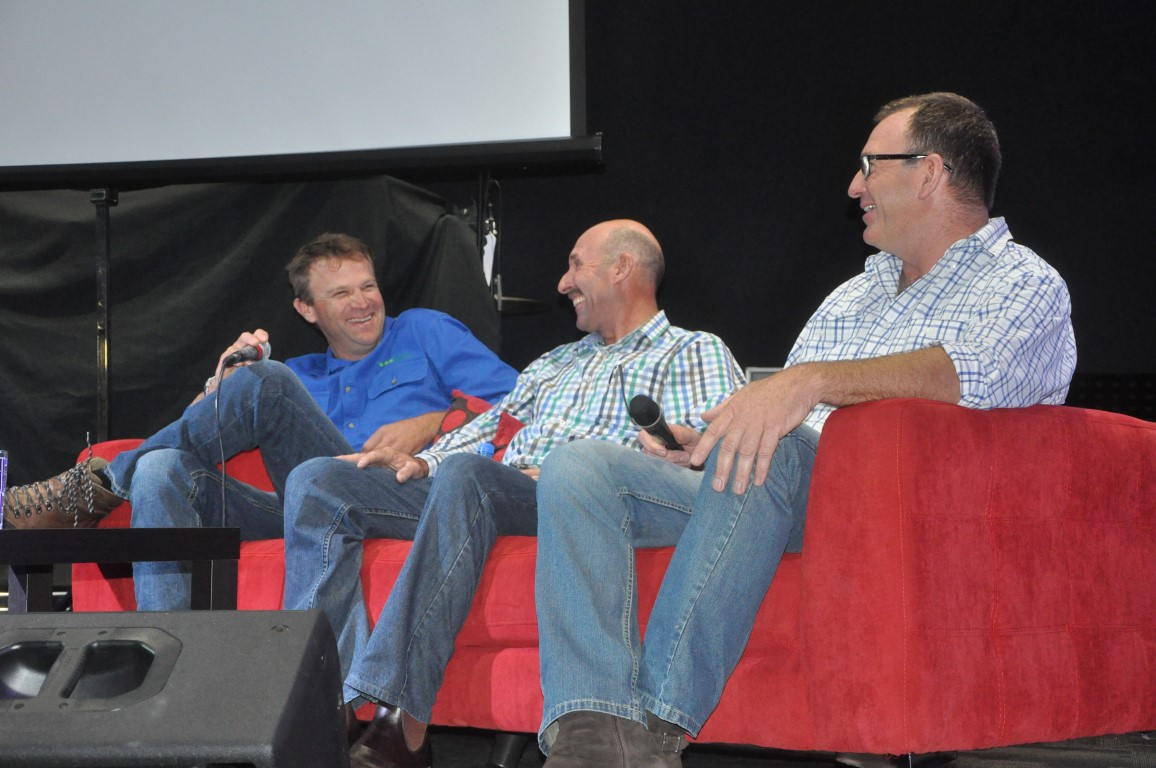 Hart's farmer panel at the 2017 Getting The Crop In seminar