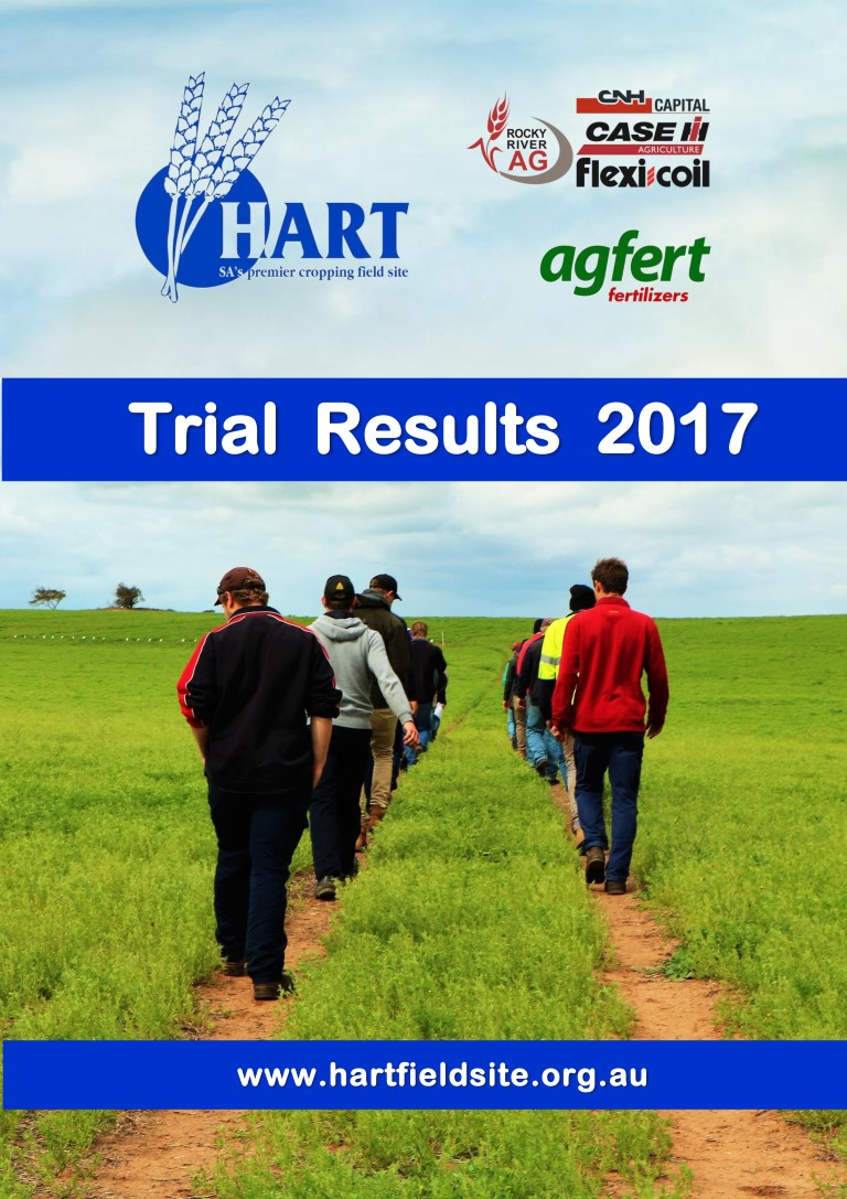 2017 Hart Trial Results Book