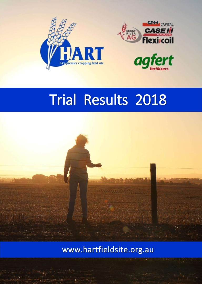 2018 Hart Trial Results Book