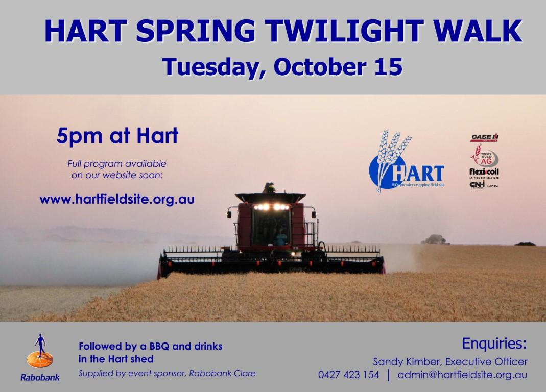 Hart Spring Twilight Walk 2019
