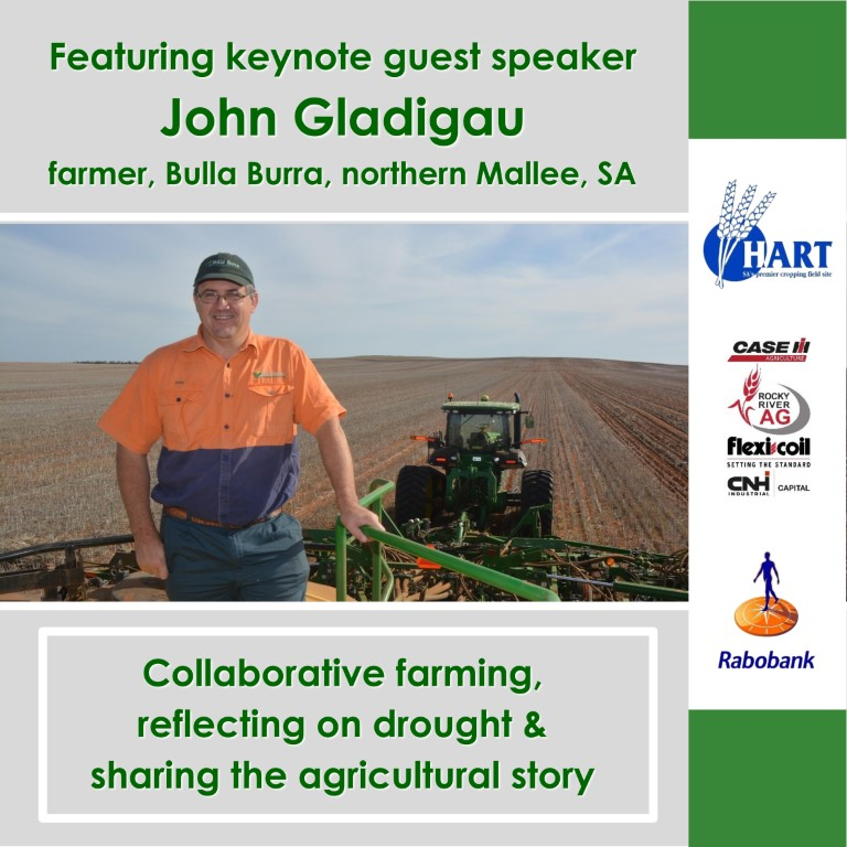 Keynote guest speaker, John Gladigau