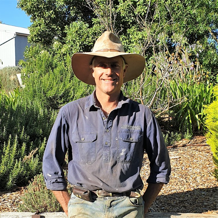 Getting The Crop In 2021 keynote farmer speaker; David 'Seth' Cooper, Jamestown SA