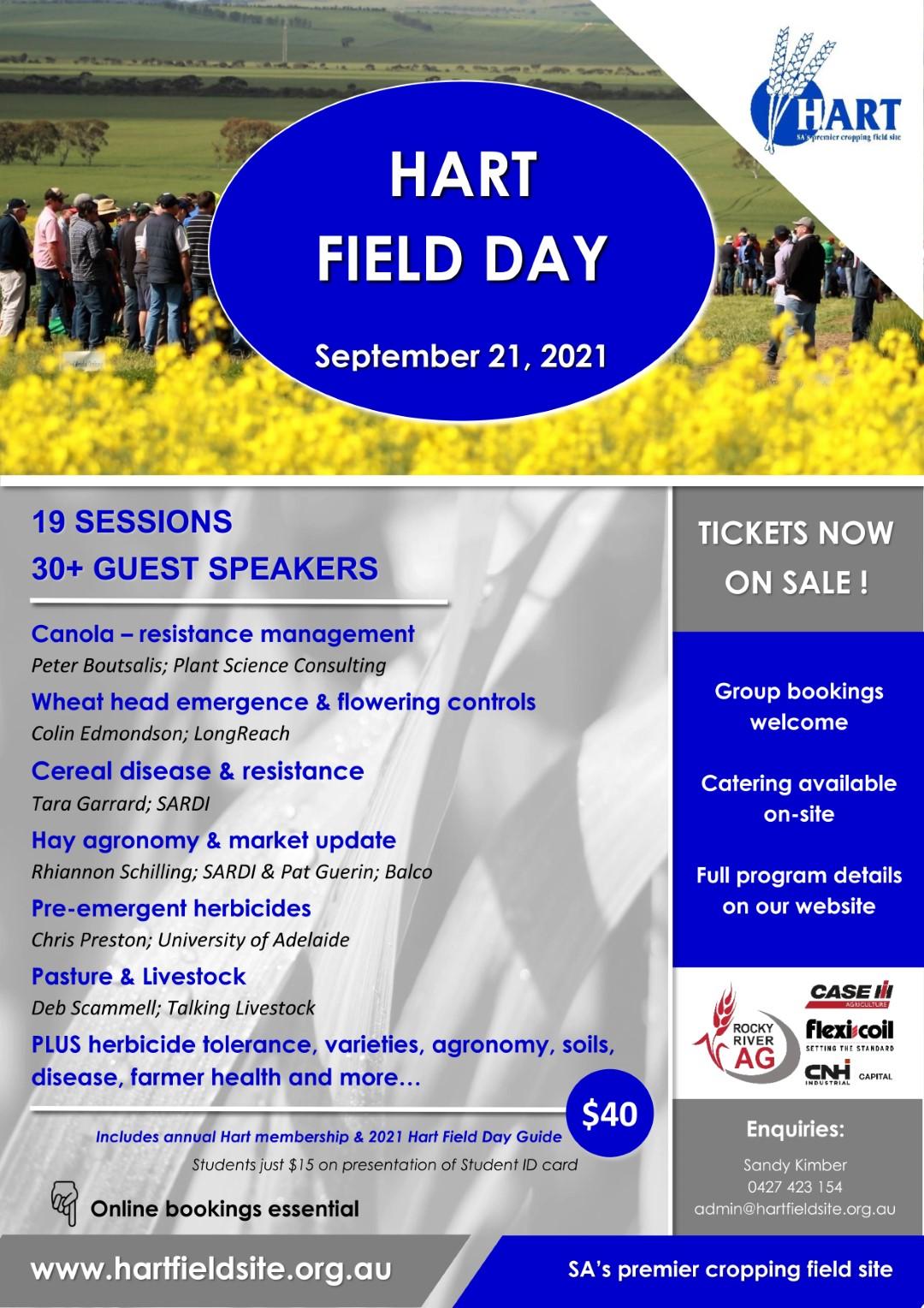 Hart Field Day - September 21, 2021