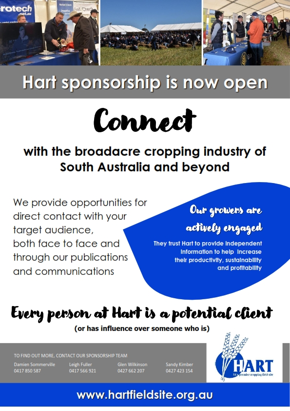 Hart sponsorship; how we help you connect
