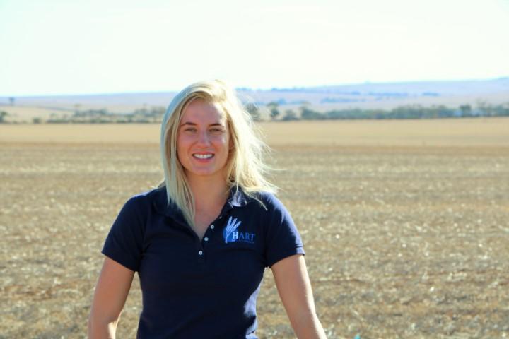 Hart's 2019 regional intern, Jade Rose