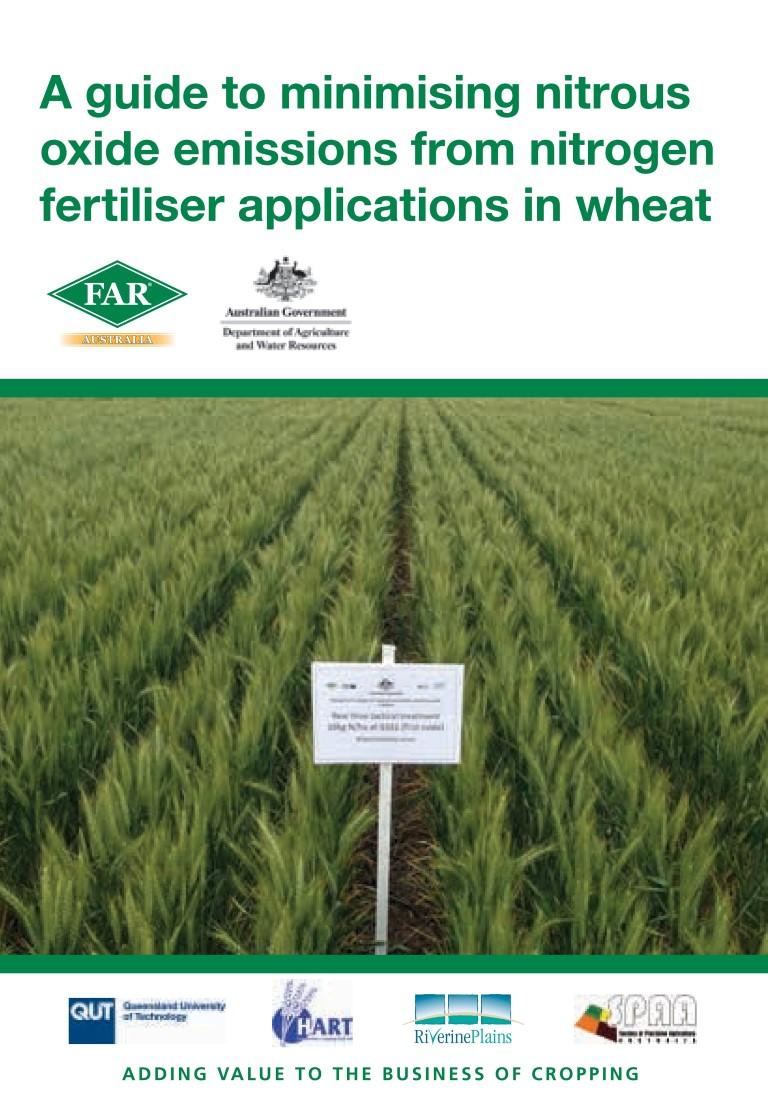 Nitrogen management in wheat 2017