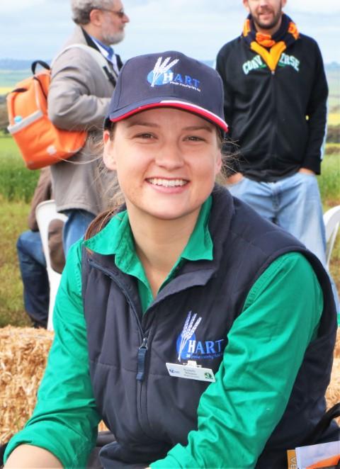 Hart's 2016 regional intern, Rochelle Wheaton