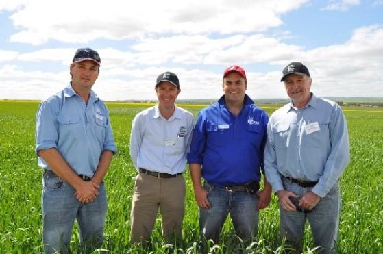 GRDC Southern Panel visit Hart 2015