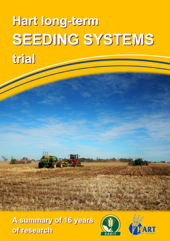 Hart Long term seeding systems trial 2016