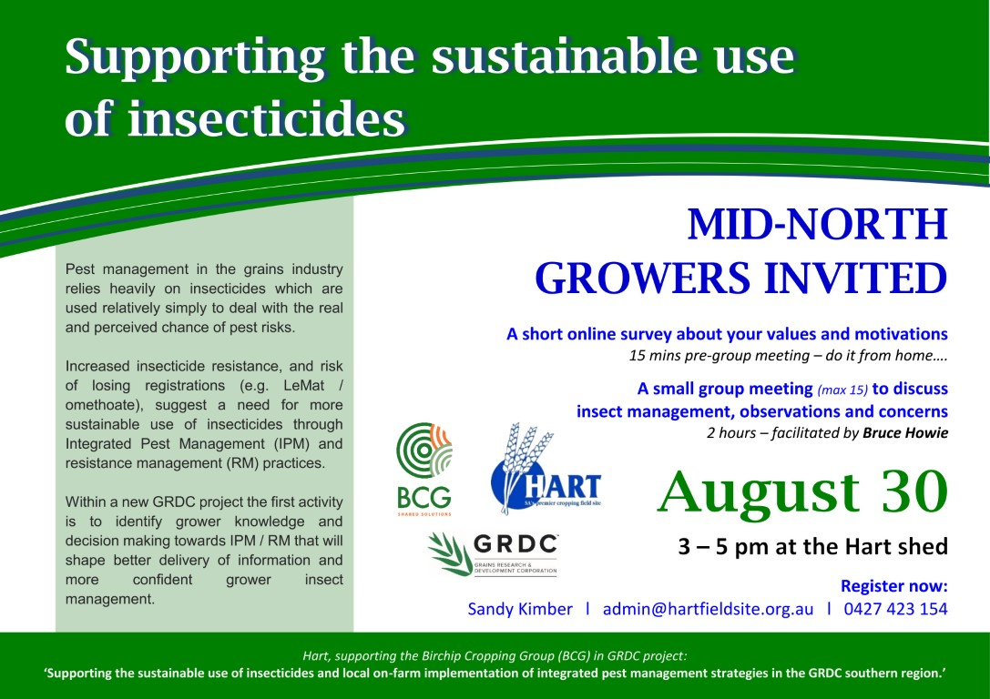 Sustainable insecticide use 2018