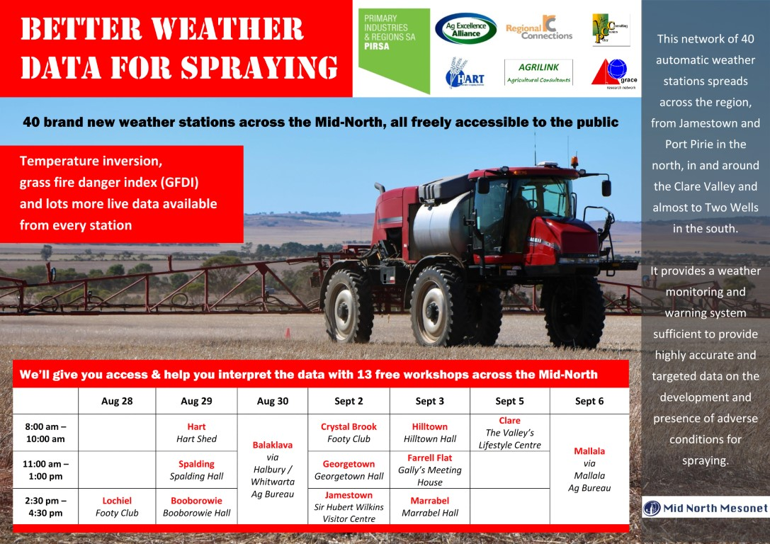 Better weather data for spraying