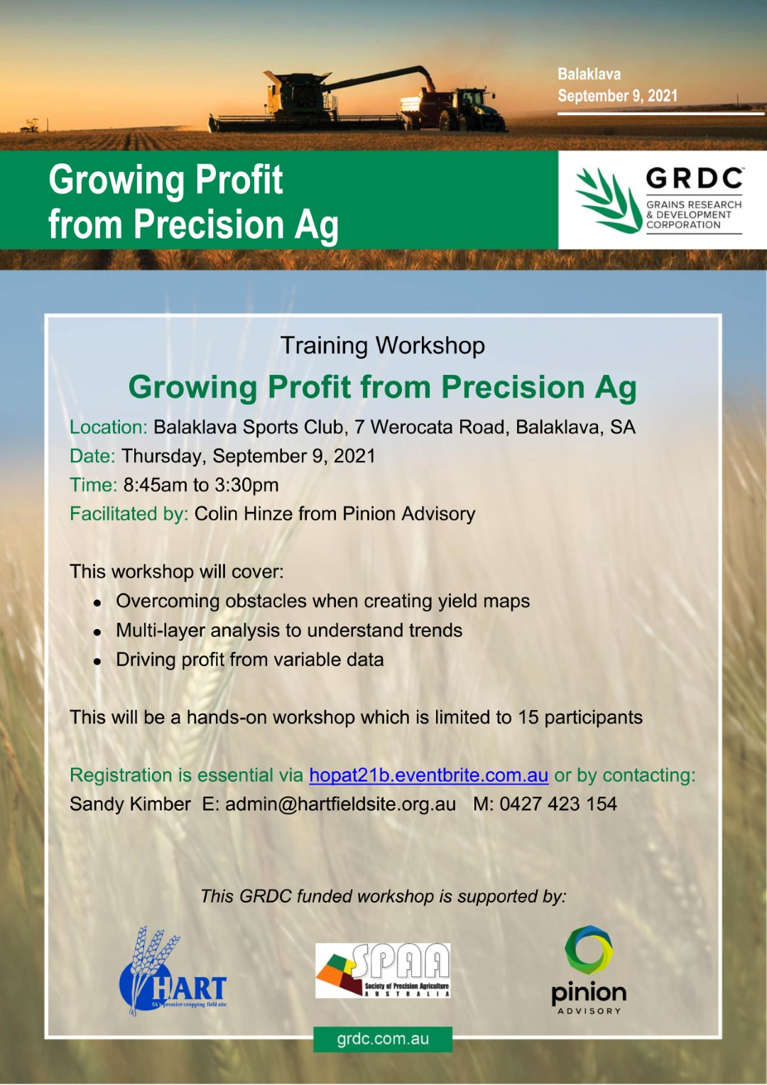 Growing Profit from Precision Ag