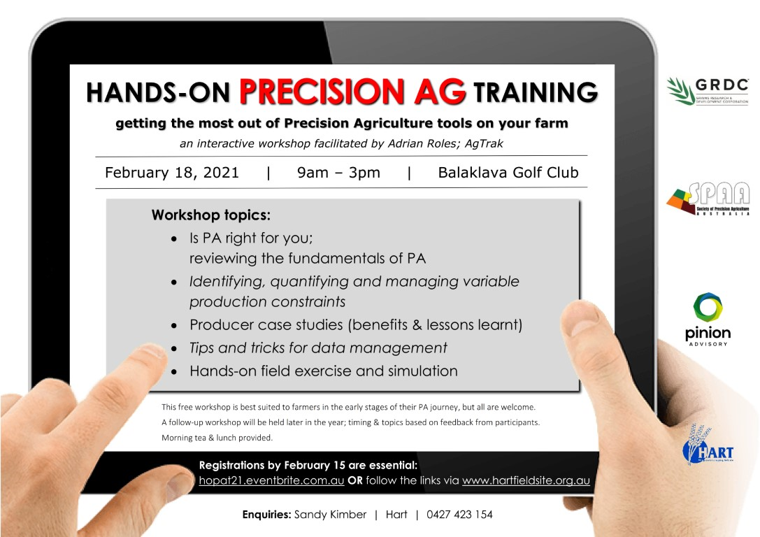 Hands-on PRECISION AG Training